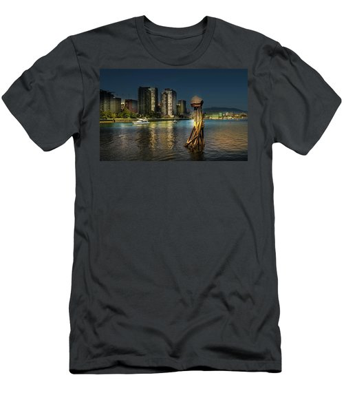 Vancouver Sunset Men's T-Shirt (Athletic Fit)