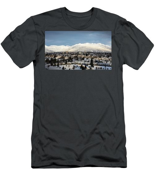 Vancouver Winterscape Men's T-Shirt (Athletic Fit)