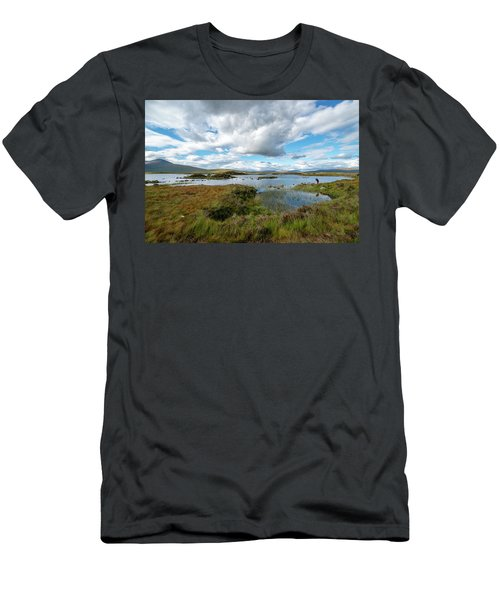 View In Glencoe, Scotland Men's T-Shirt (Athletic Fit)