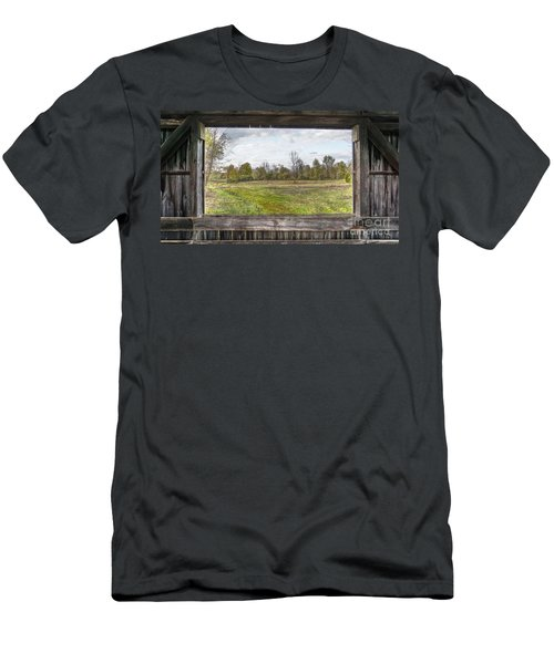View Into Ohio's Nature Men's T-Shirt (Athletic Fit)
