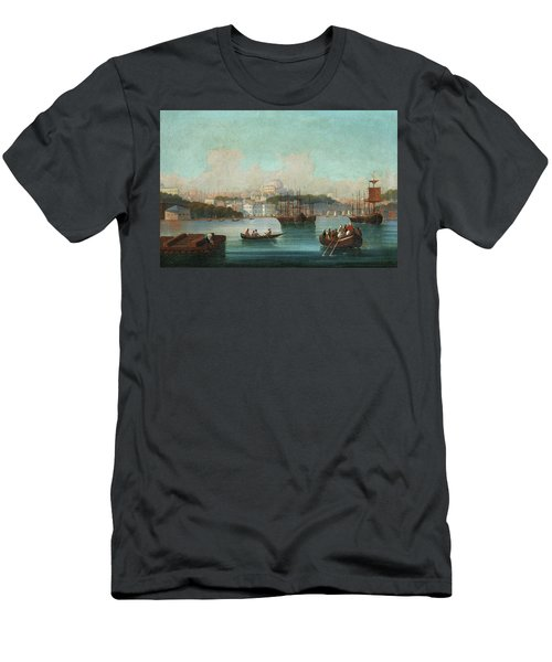 View Of Istanbul - 1 Men's T-Shirt (Athletic Fit)