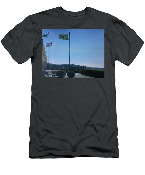 Viewing Circle At Grand Ave Park Men's T-Shirt (Athletic Fit)