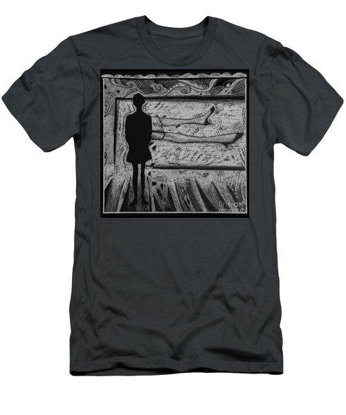 Viewing Supine Woman. Men's T-Shirt (Athletic Fit)