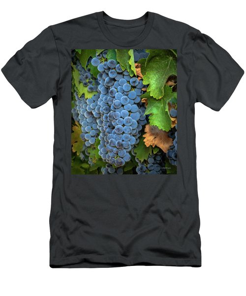 Men's T-Shirt (Athletic Fit) featuring the photograph Vintage Harvest by Tim Bryan