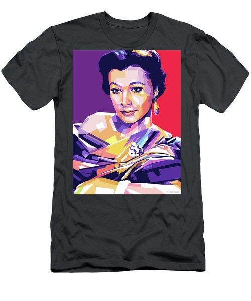 Vivien Leigh Pop Art Men's T-Shirt (Athletic Fit)