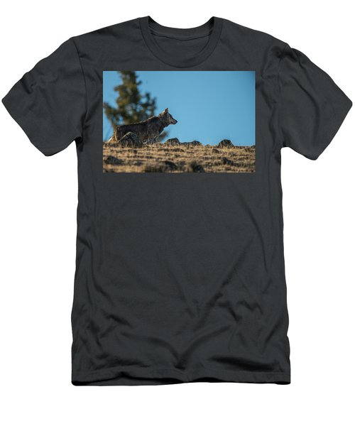 Men's T-Shirt (Athletic Fit) featuring the photograph W61 by Joshua Able's Wildlife