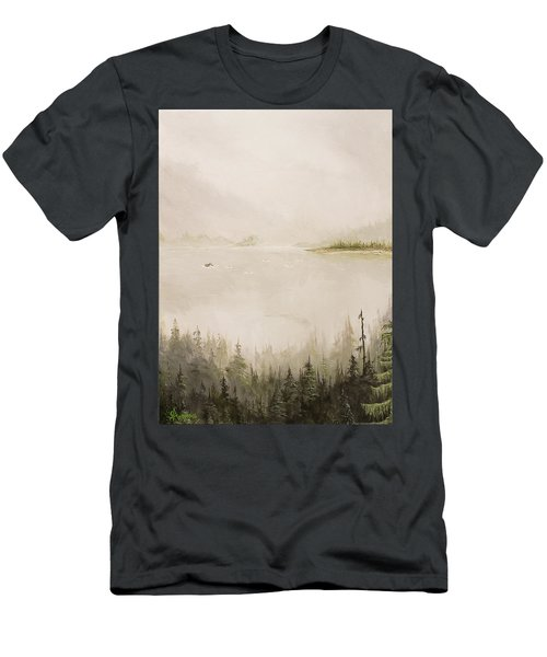 Waiting For The Eagle To Come Men's T-Shirt (Athletic Fit)