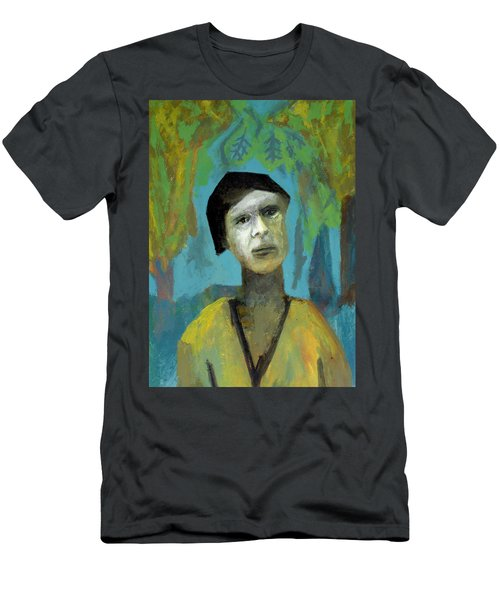 Walking In A Forest Men's T-Shirt (Athletic Fit)