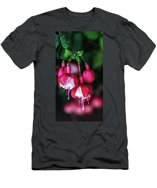 Wallpaper Flower Men's T-Shirt (Athletic Fit)