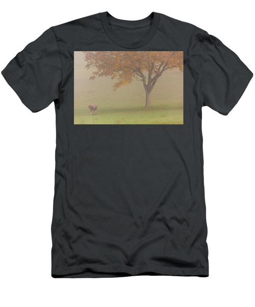 Men's T-Shirt (Athletic Fit) featuring the photograph Walnut Farmer, Beynac, France by Mark Shoolery