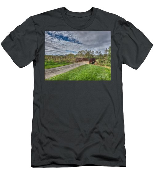 Walnut Woods Bridge - 1 Men's T-Shirt (Athletic Fit)