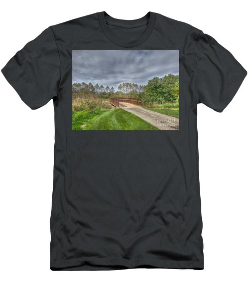 Walnut Woods Bridge - 2 Men's T-Shirt (Athletic Fit)