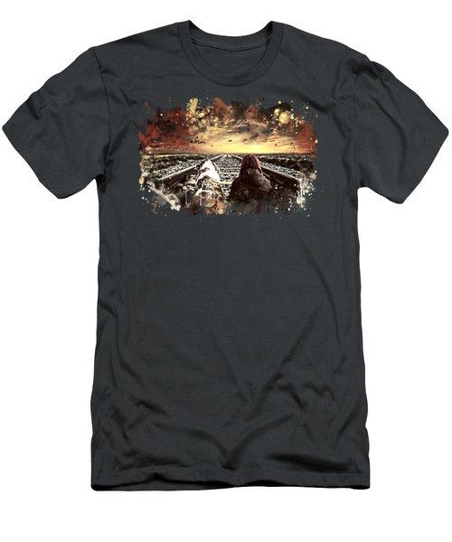 Wanderlust Wsfn Men's T-Shirt (Athletic Fit)