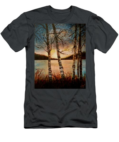 Warm Fall Day Men's T-Shirt (Athletic Fit)