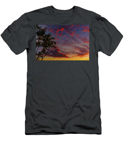 Warm Sky Men's T-Shirt (Athletic Fit)