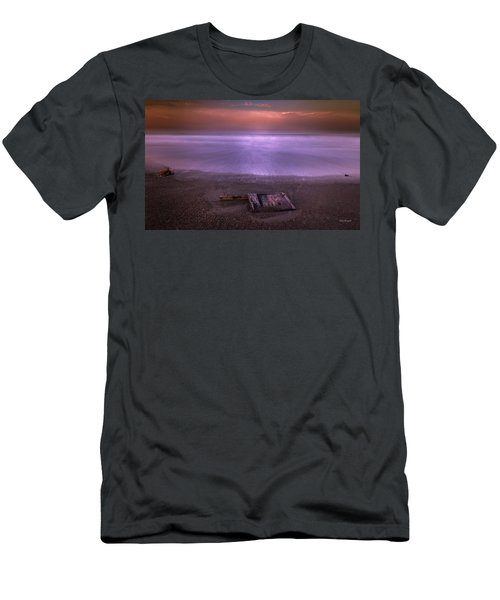 Men's T-Shirt (Athletic Fit) featuring the photograph Washed Ashore by Tim Bryan