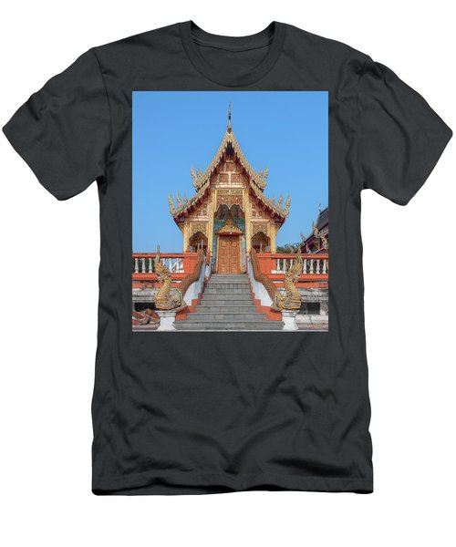 Wat Nong Tong Phra Wihan Dthcm2639 Men's T-Shirt (Athletic Fit)