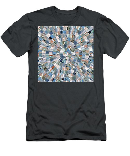 Water Mosaic Men's T-Shirt (Athletic Fit)