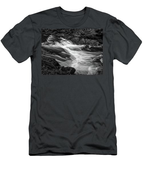 Waterfalls At Ricketts Glenn Men's T-Shirt (Athletic Fit)