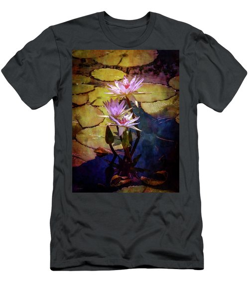Waterlily Bouquet 2922 Idp_6 Men's T-Shirt (Athletic Fit)