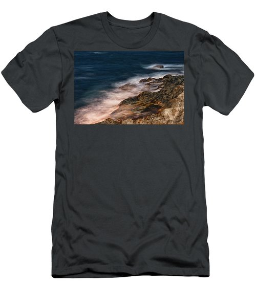 Waves And Rocks At Sozopol Town Men's T-Shirt (Athletic Fit)
