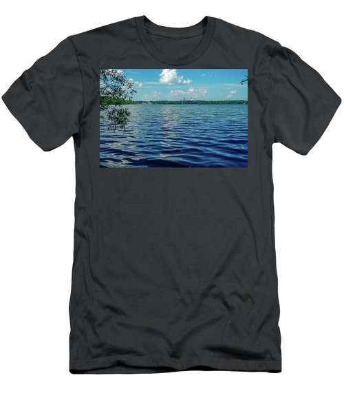 Waves On Lake Harriet Men's T-Shirt (Athletic Fit)