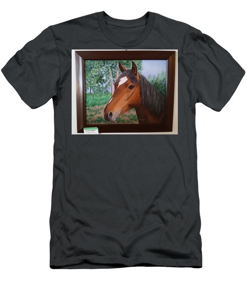 Wayne's Horse Men's T-Shirt (Athletic Fit)