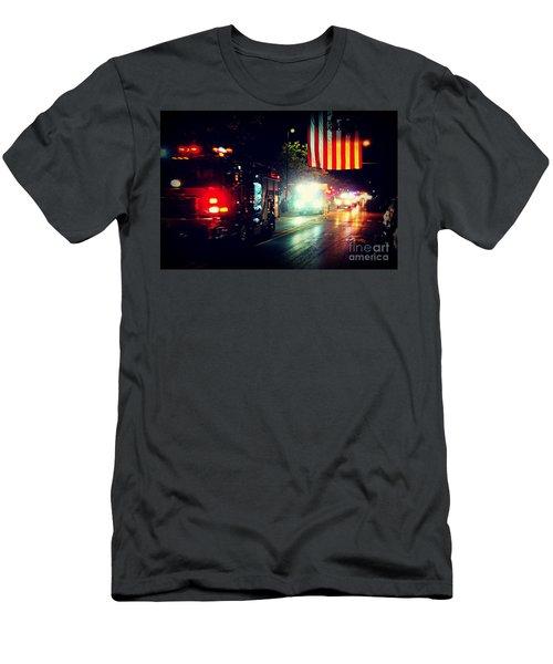 We Remember 9/11 Men's T-Shirt (Athletic Fit)
