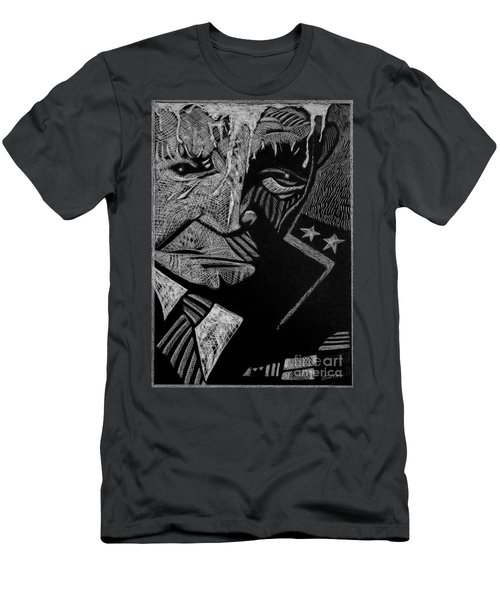 Weary Warrior. Men's T-Shirt (Athletic Fit)