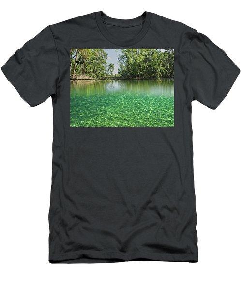 Wekiwa Springs Men's T-Shirt (Athletic Fit)