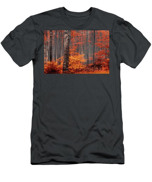 Welcome To Orange Forest Men's T-Shirt (Athletic Fit)