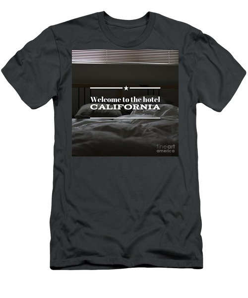 Welcome To The Hotel California Men's T-Shirt (Athletic Fit)
