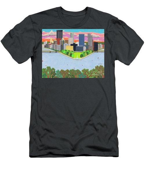 West End Overlook Men's T-Shirt (Athletic Fit)