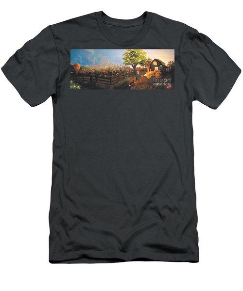 West Barn Men's T-Shirt (Athletic Fit)