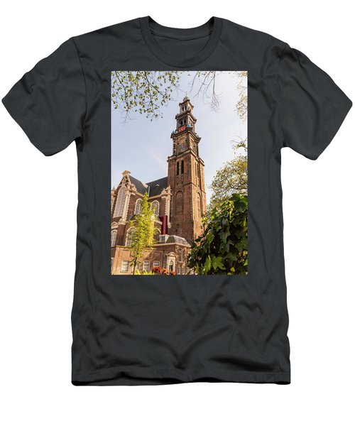 Westerkerk In Amsterdam Men's T-Shirt (Athletic Fit)