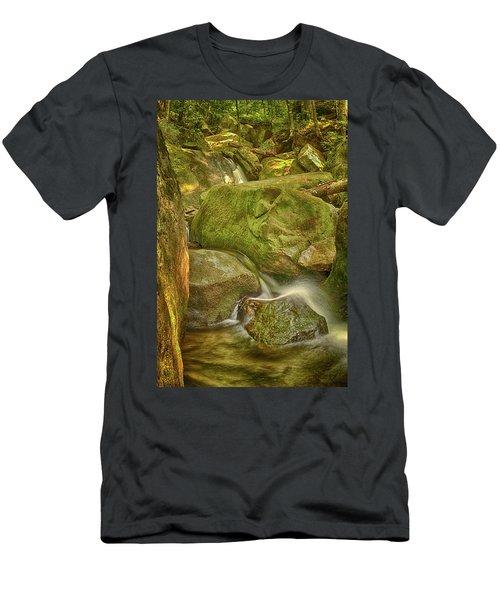 Wet Rocks Men's T-Shirt (Athletic Fit)