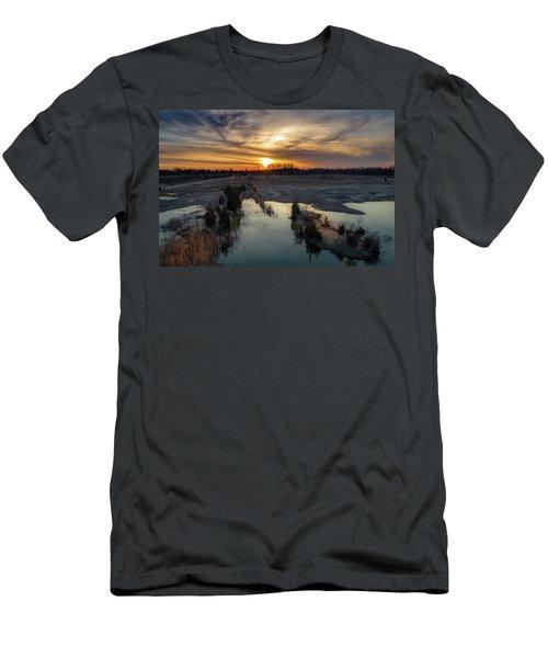 What A View Men's T-Shirt (Athletic Fit)