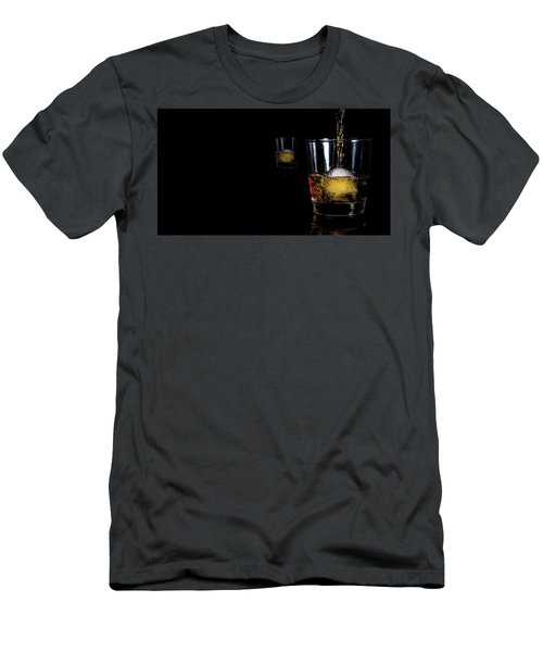 Whisky On Ice For Two Men's T-Shirt (Athletic Fit)