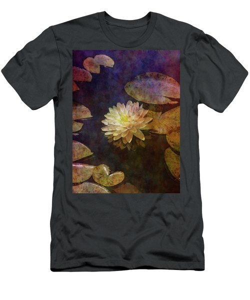 White Lotus Lily Pond 2938 Idp_2 Men's T-Shirt (Athletic Fit)