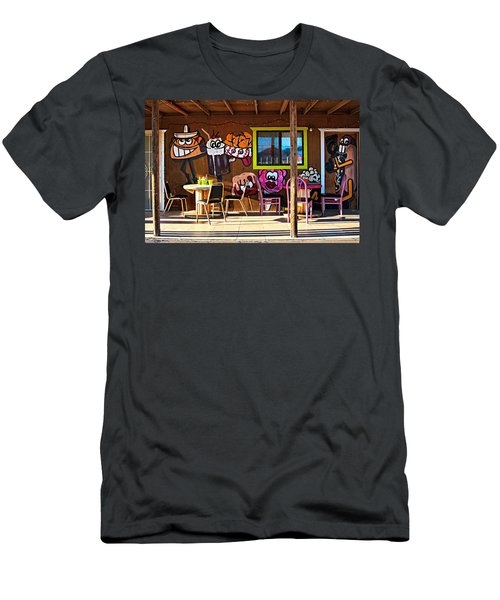 Wild West Dining Men's T-Shirt (Athletic Fit)