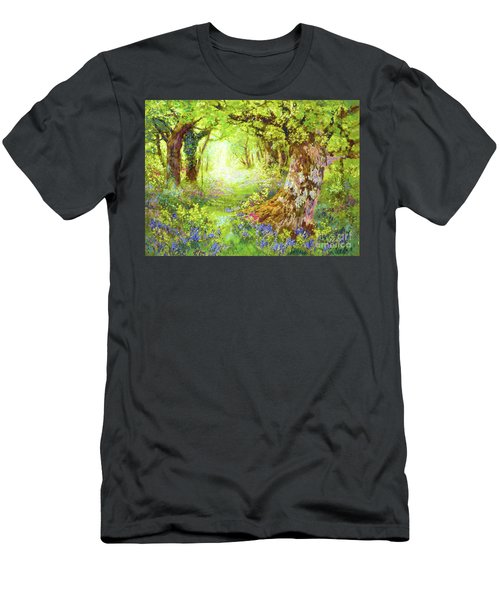 Wildflower Delight Men's T-Shirt (Athletic Fit)