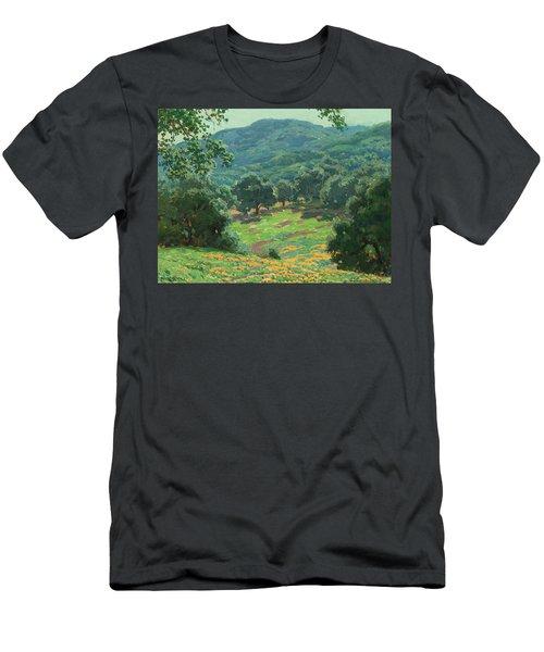 Wildflowers In Bloom Men's T-Shirt (Athletic Fit)
