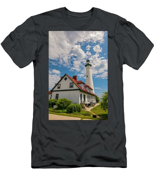 Wind Point Lighthouse No. 2 Men's T-Shirt (Athletic Fit)