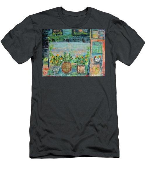 Window Box Men's T-Shirt (Athletic Fit)