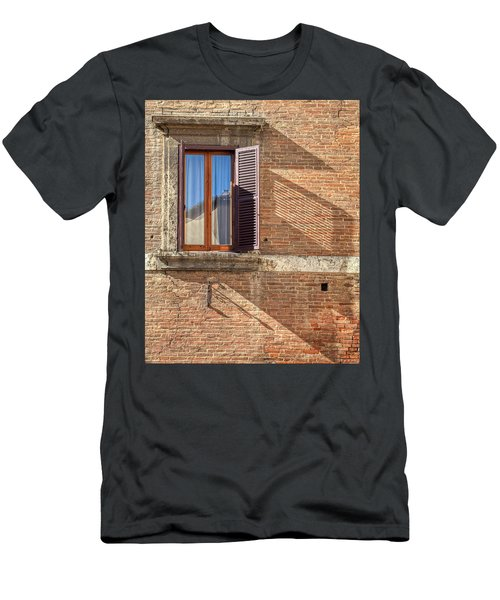 Window Shutter Shadow Of Tuscany Men's T-Shirt (Athletic Fit)