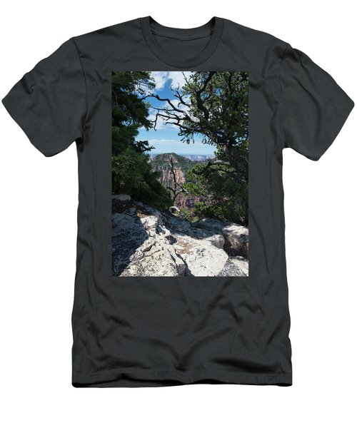 Window View Men's T-Shirt (Athletic Fit)