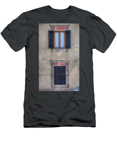 Windows Of Montalcino Men's T-Shirt (Athletic Fit)