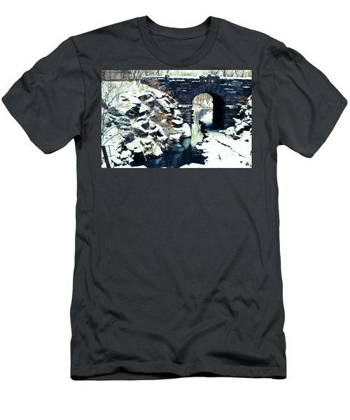 Winter Day At The Glen Span Arch Men's T-Shirt (Athletic Fit)