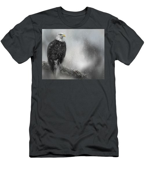 Winter Watcher Men's T-Shirt (Athletic Fit)