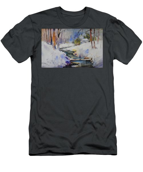 Winter Wilderness Men's T-Shirt (Athletic Fit)